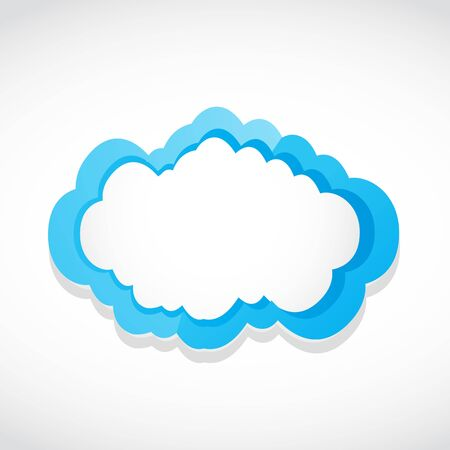 abstract cloud icon Stock Vector - 17296484