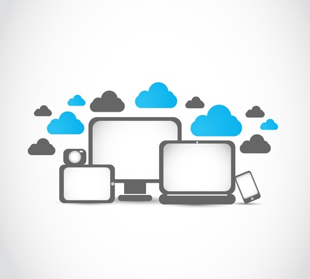electronic devices cloud computing