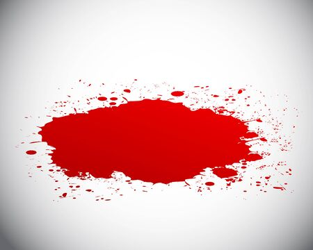 blood splash Stock Vector - 18135380