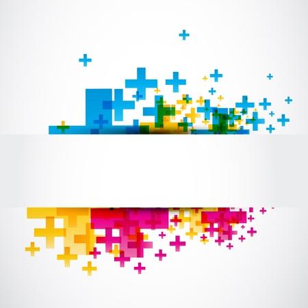 super cross: Castellano abstracto signo positivo