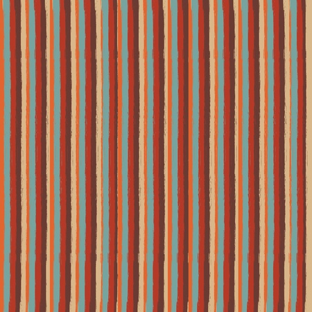 grunge retro stripes seamless pattern Stock Vector - 19370273