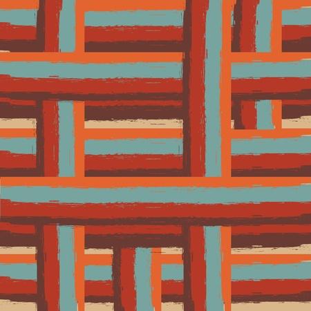 lineas rectas: líneas de colores retro de fondo sin fisuras