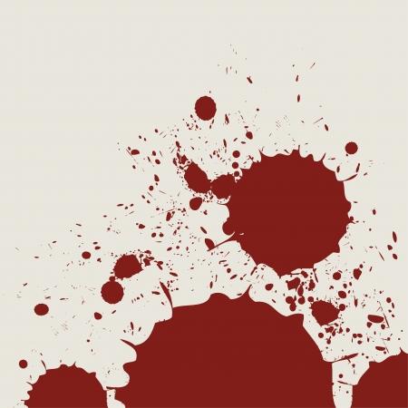 uccidere: retro astratto acquerello spruzzata