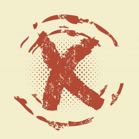 reject: grunge reject stamp
