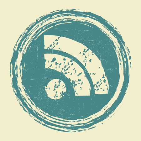 boardcast: Grunge Wifi Symbol Illustration