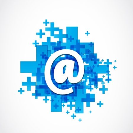 plus symbol: Positive Business Email