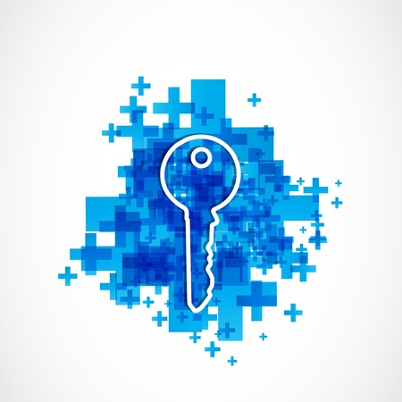 house key business solution Vector