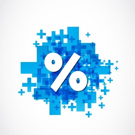 retailers: Positive Percent Illustration