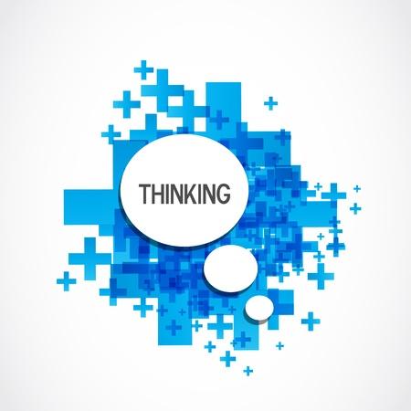 Positief denken cloud