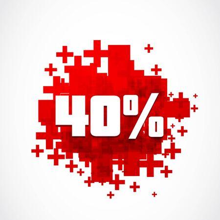 40: Destockage 40 percent