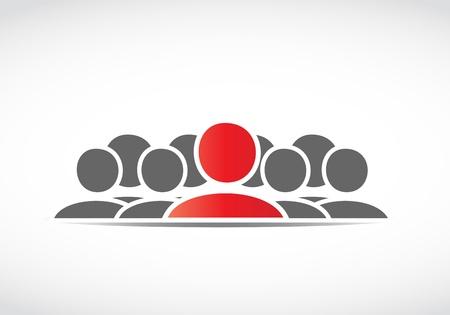 Leadership Stock Vector - 21946458