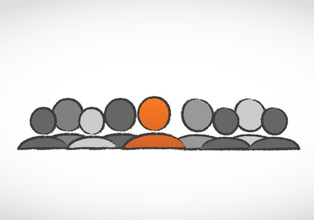 teamleider: teamleider Stock Illustratie