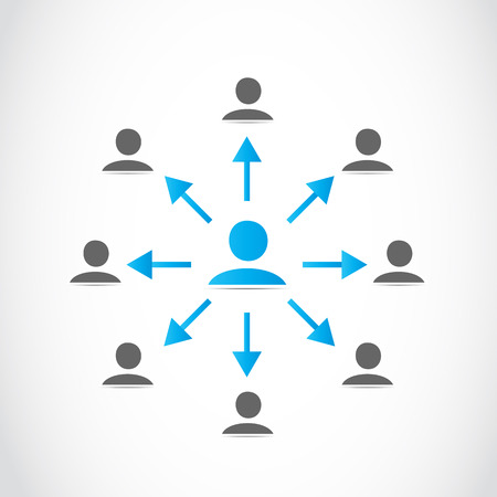 corporations: Business people network
