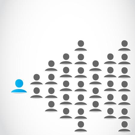 ソーシャル ネットワーク ビジネス  イラスト・ベクター素材
