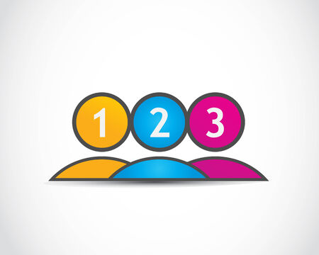 2 3: One, two, three options group
