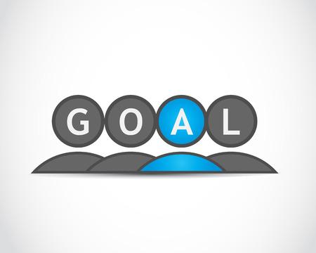 Business goals Stock Vector - 22704521