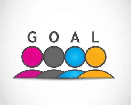Creative Goal Plan Stock Vector - 22704525