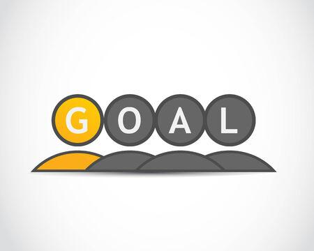 Business goal plan Stock Vector - 22704522