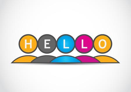 Hello Stock Vector - 22704526