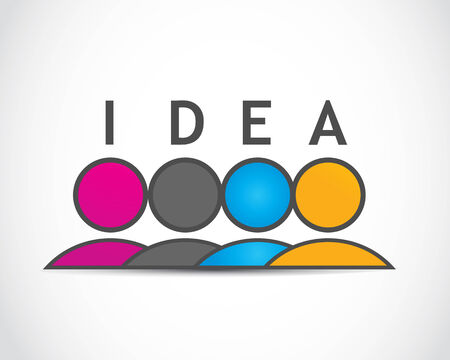 career coach: idea Illustration