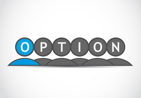 Option group Stock Vector - 22704620