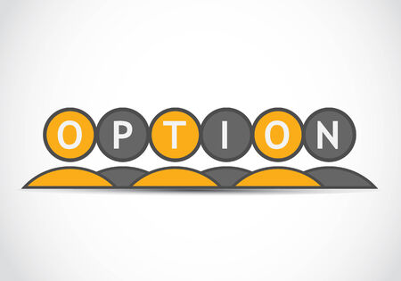 Option concept Stock Vector - 22704622