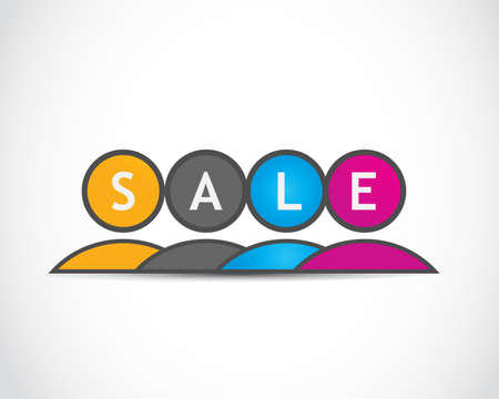 sell out: Sale  Illustration