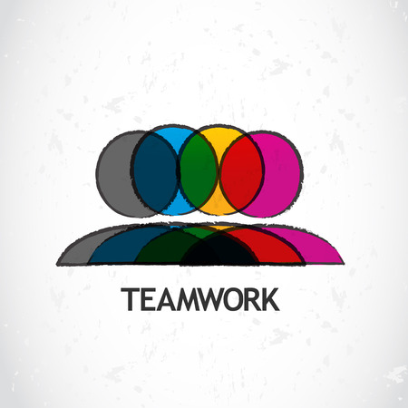 Teamwork corporate Vector