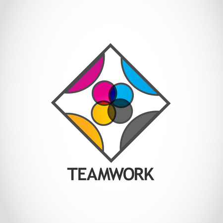 Teamwork Logo Vector