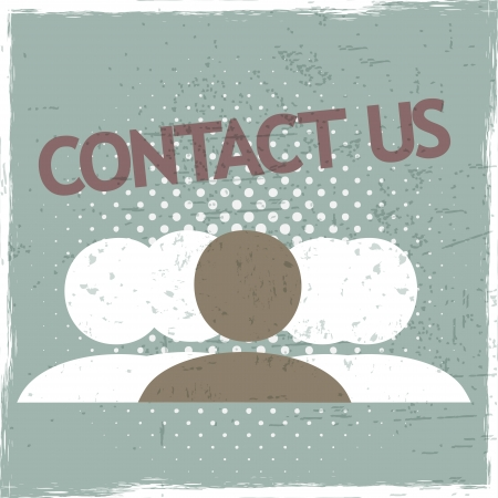 Contact Us Group Stock Vector - 22748731