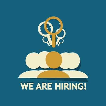 We are hiring group Vector