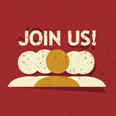 join us: Join Us  Illustration
