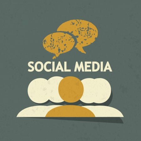 SOCIAL MEDIA CONCEPT Stock Vector - 22748760