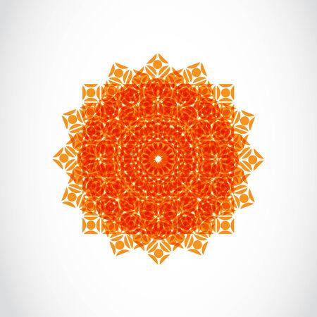 Oriental style seamless pattern Vector