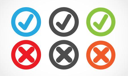 check mark circles