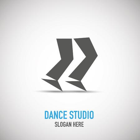 Dancing man logotype