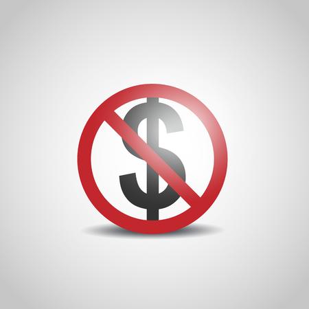 No Dollar Sign Ilustração