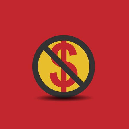 Stop usd symbol