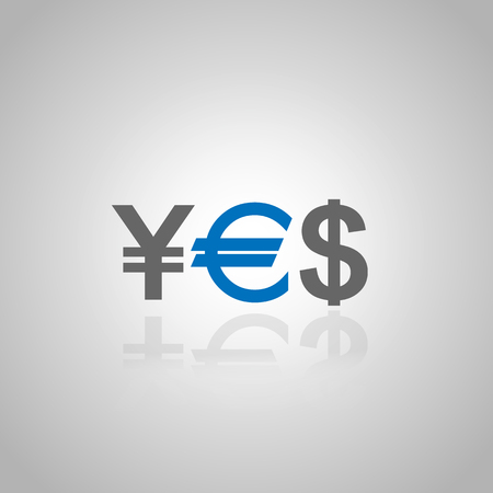YES Currency Illustration