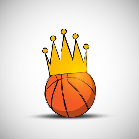Basketball Ball in Crown