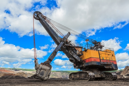 Electric Shovel in Lignite mining THAILAND