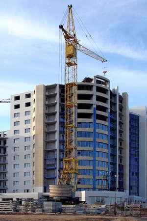 high-rise vein building Archivio Fotografico