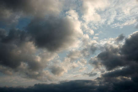 varicoloured: abstract scene of the varicoloured clouds on sky