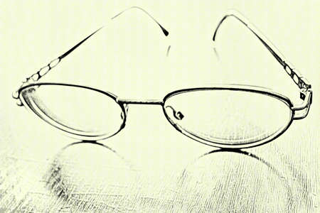 abstract scene spectacles photo