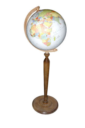 scholastic: scholastic globe for learning on white background