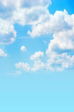 revenge: blue sky on revenge Stock Photo