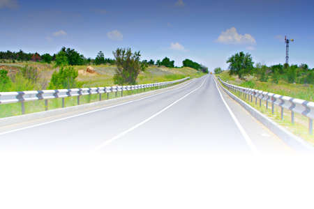 blissfull:  road Stock Photo