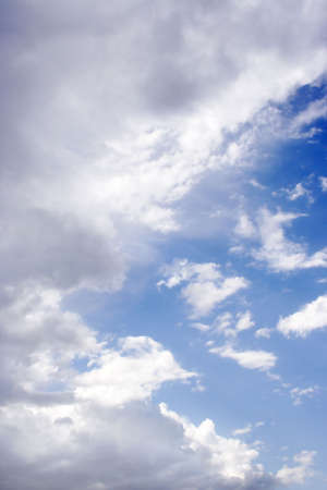 blissfull: blue sky and cloud Stock Photo