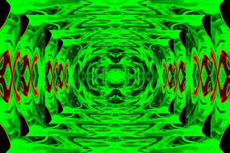 blissfull: abstract patterns in varicoloured background scene Stock Photo
