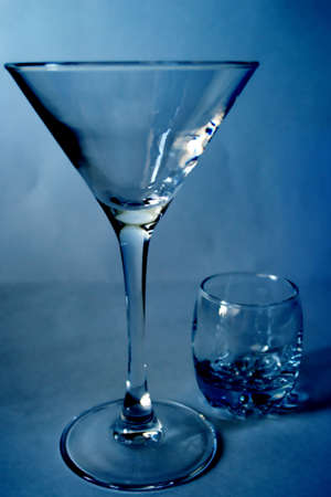 abstract scene of the glass liquor-glass Stock Photo - 3650405